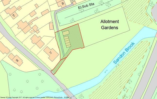 Residential Development Commercial for sale in Land To The Rear Of 71 Hall Lane, Sandon, Chelmsford, Essex, CM2 7RJ