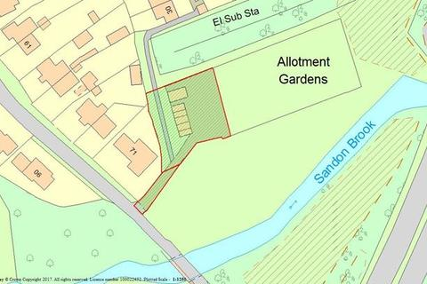 Residential development for sale - Land To The Rear Of 71 Hall Lane, Sandon, Chelmsford, Essex, CM2 7RJ