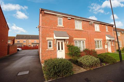 3 bedroom semi-detached house for sale - Greenrigg Place, Earsdon View, Shiremoor, Newcastle Upon Tyne