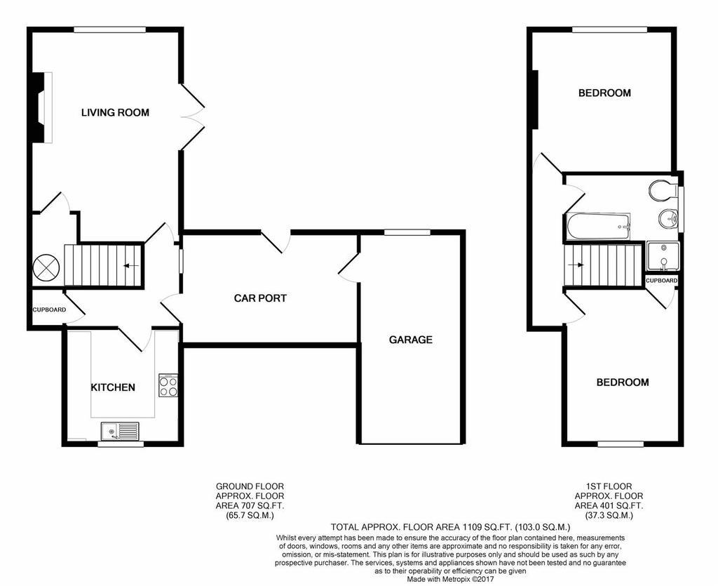 Skelton, Penrith 2 bed semi-detached house for sale - £199,950