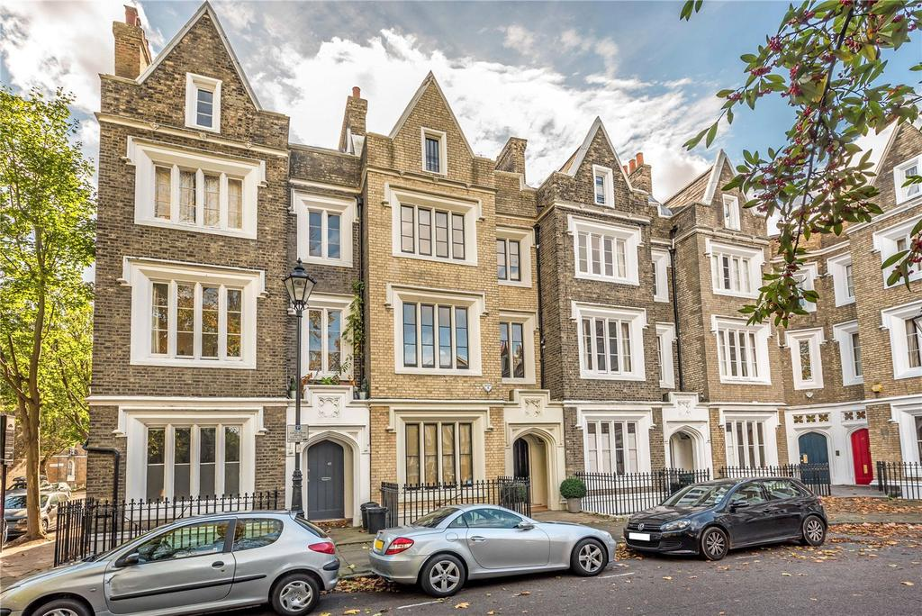 3 Bedrooms Terraced House for sale in Lonsdale Square, Islington, London, N1