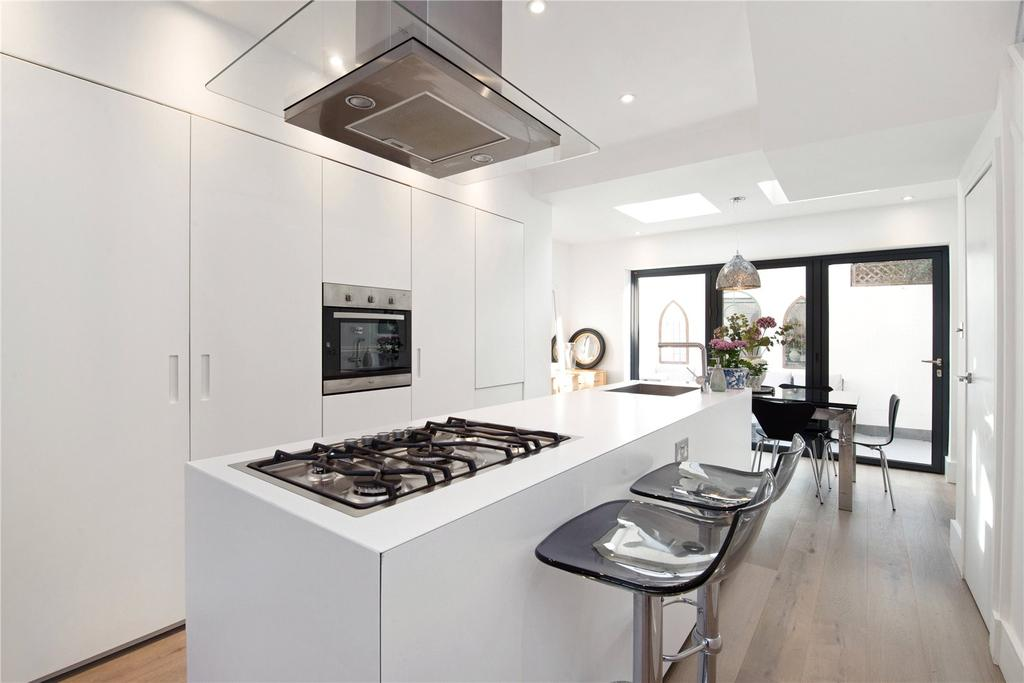 4 Bedrooms End Of Terrace House for sale in Colehill Lane, Munster Village, Fulham, SW6
