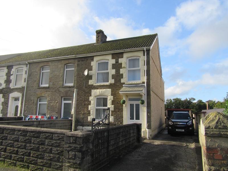 2 Bedrooms End Of Terrace House for sale in Llanerch Road, Bonymaen, Swansea.
