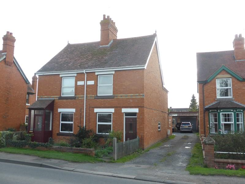 2 Bedrooms Semi Detached House for sale in Bretforton Road, Badsey, Evesham