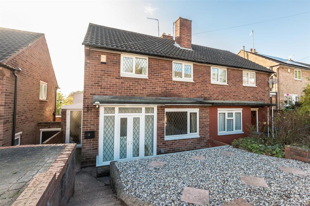 2 Bedrooms Semi Detached House for sale in Norwood Avenue, Cradley Heath