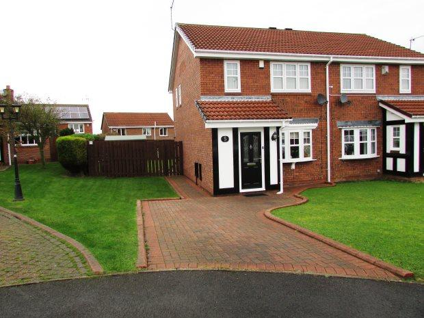 3 Bedrooms Semi Detached House for sale in BRIXHAM CLOSE, SEAHAM, SEAHAM DISTRICT