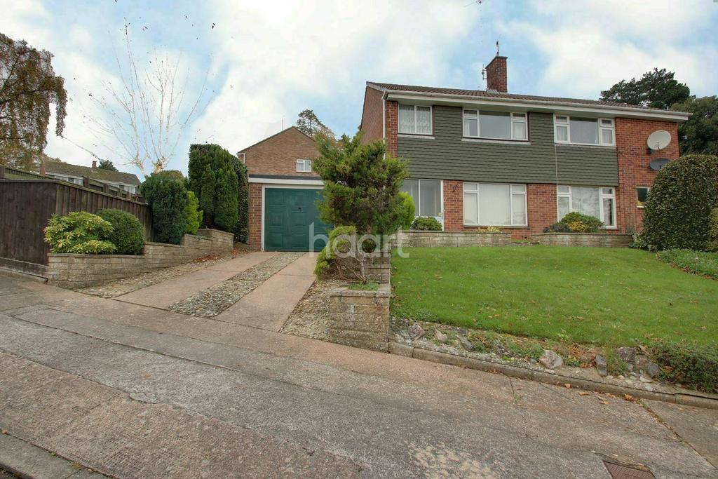 3 Bedrooms Semi Detached House for sale in Pilmuir Avenue, Torquay