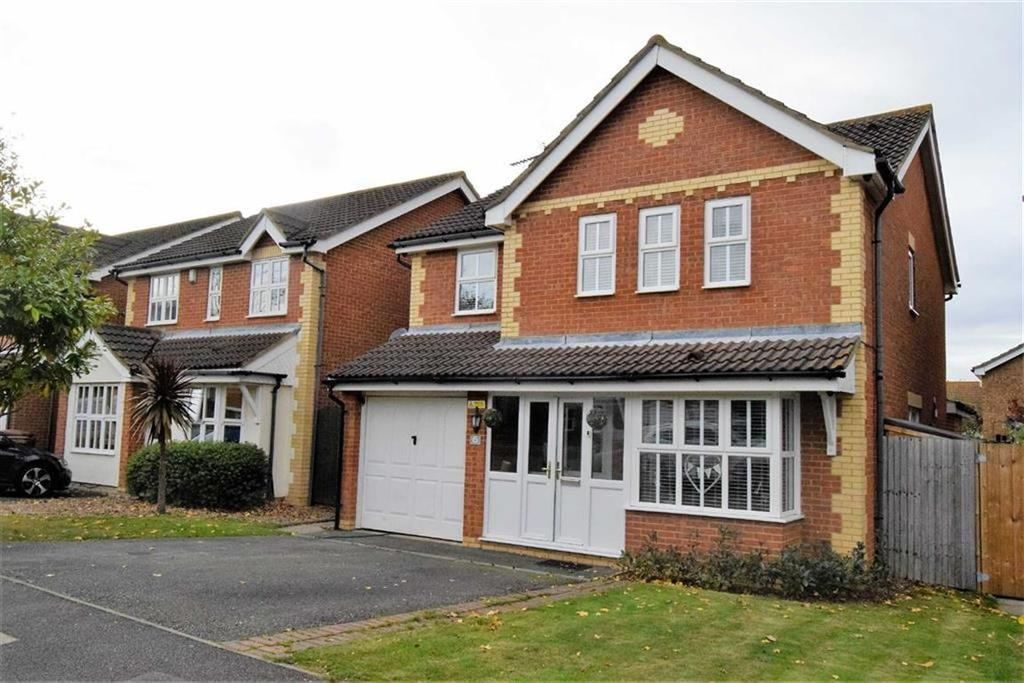4 Bedrooms Detached House for sale in Caldecote Close, Rainham, Kent, ME8