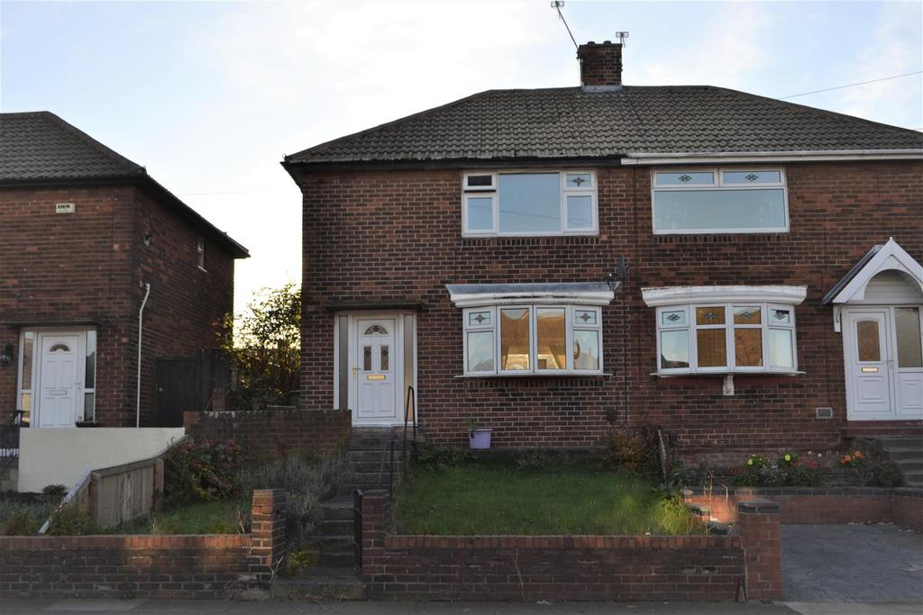 2 Bedrooms Semi Detached House for sale in Ravenswood Road, Redhouse, Sunderland