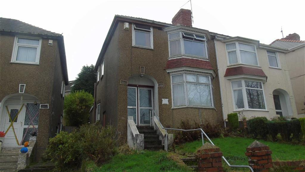 3 Bedrooms Semi Detached House for sale in Cefn Coed Crescent, Swansea, SA2