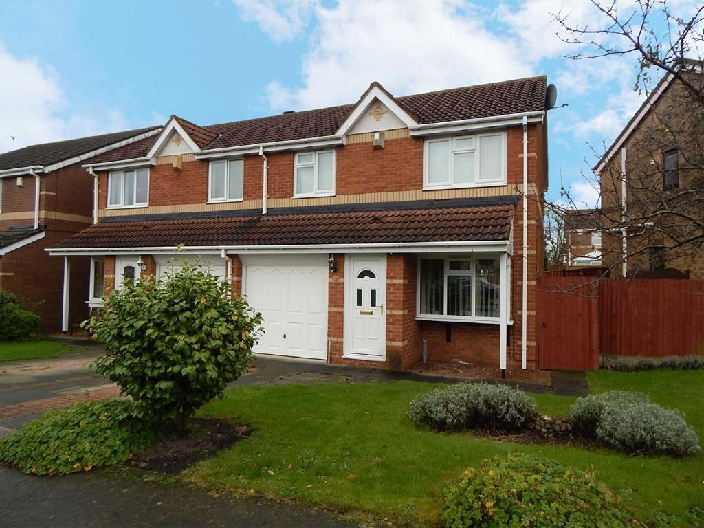3 Bedrooms Semi Detached House for sale in Locksley Close, North Shields, Tyne And Wear, NE29