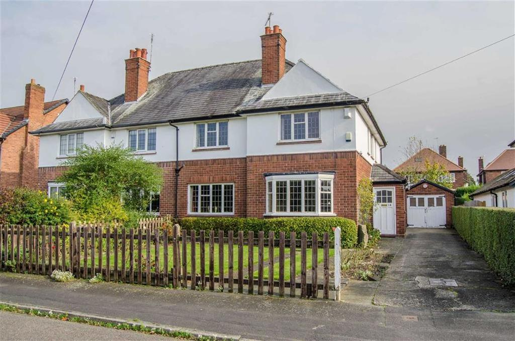 4 Bedrooms Semi Detached House for sale in Argyll Avenue, Curzon Park, Chester, Chester