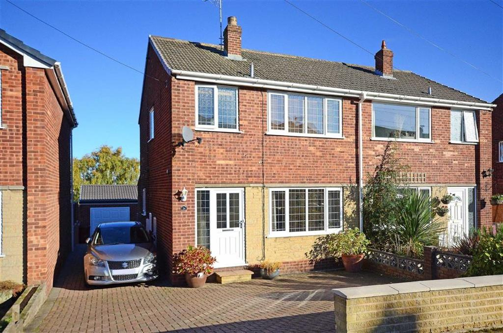3 Bedrooms Semi Detached House for sale in 14, Greenacres Close, Dronfield, Derbyshire, S18