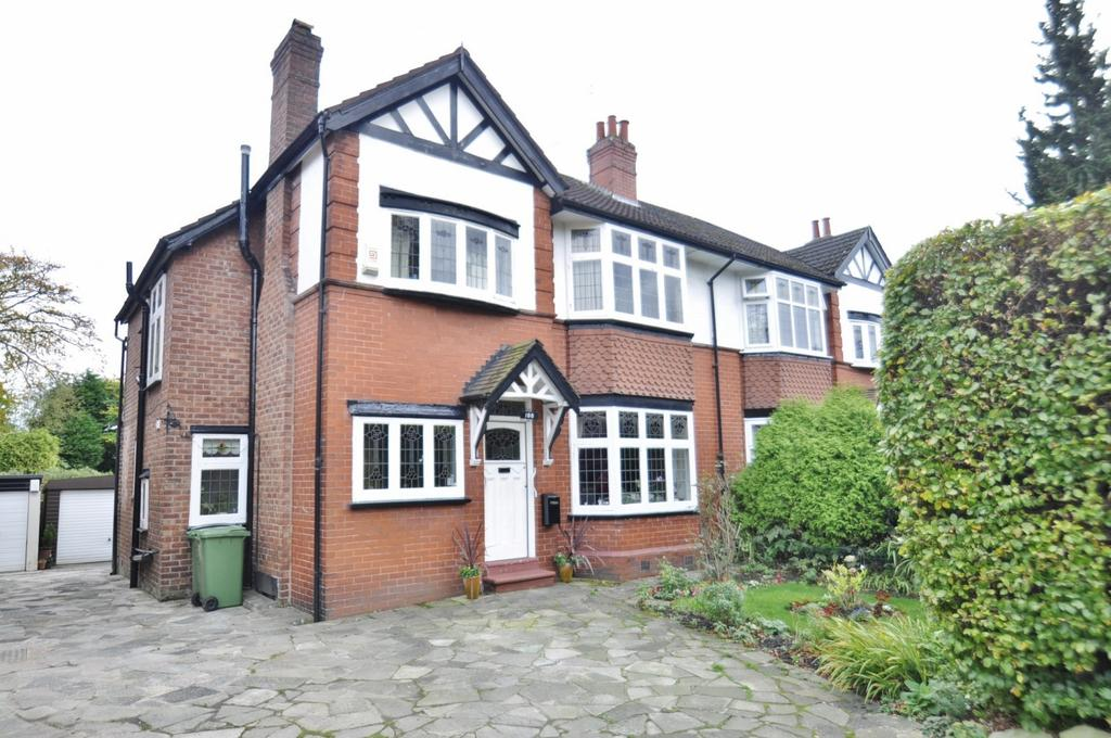 4 Bedrooms Semi Detached House for sale in Mile End Lane, Stockport