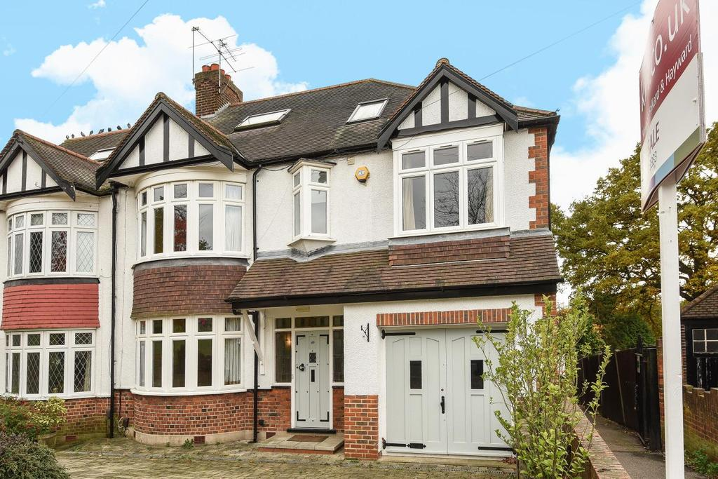 5 Bedrooms Semi Detached House for sale in Oakwood Crescent, Winchmore Hill