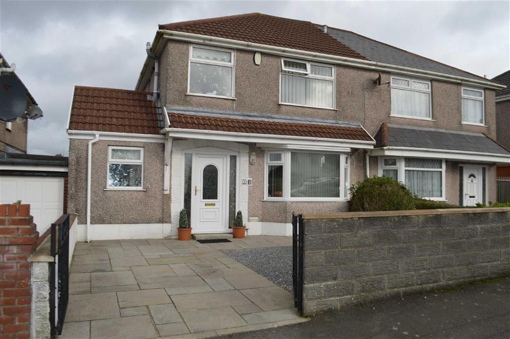 3 Bedrooms Semi Detached House for sale in Graiglwydd Road, Swansea, SA2
