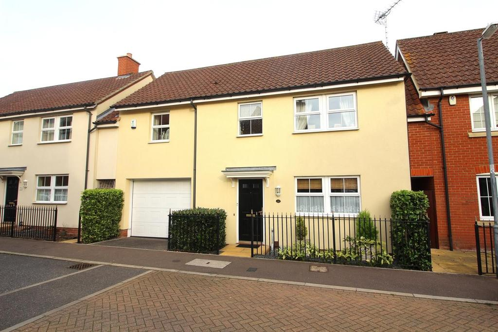 4 Bedrooms Link Detached House for sale in Fayrewood Drive, Great Leighs, Chelmsford, Essex, CM3