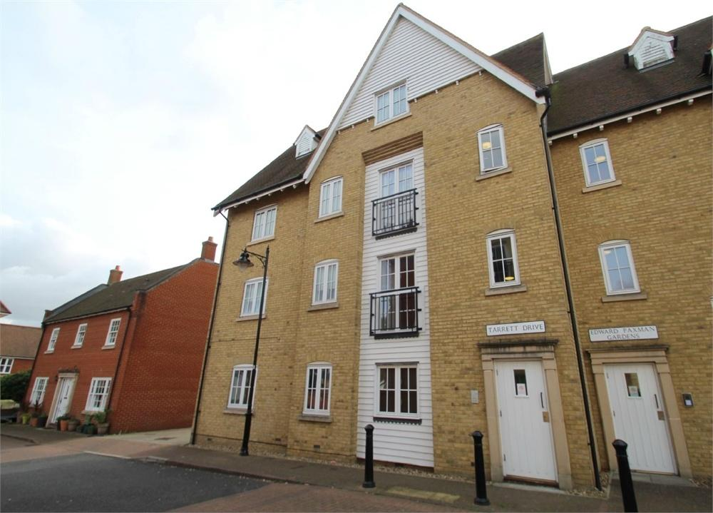 2 Bedrooms Flat for sale in Tarrett Drive, Off Edward Paxman Gardens, Colchester, Essex