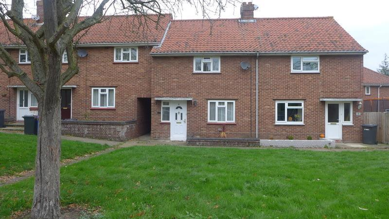 2 Bedrooms Terraced House for sale in Black Boy Meadow, Beccles