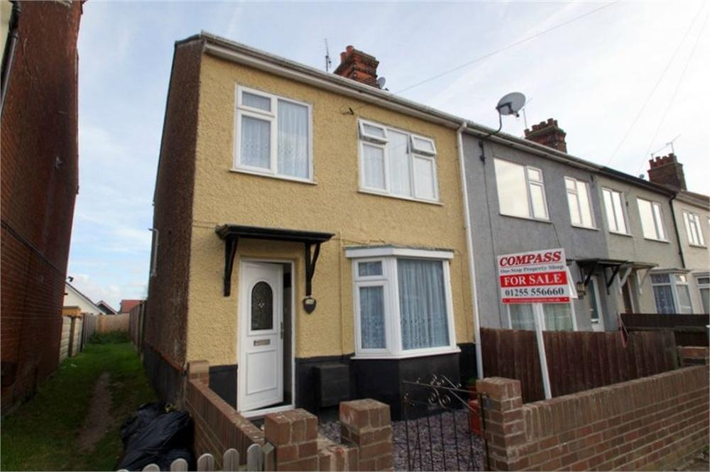 3 Bedrooms End Of Terrace House for sale in Clarkes Road, Dovercourt, Essex