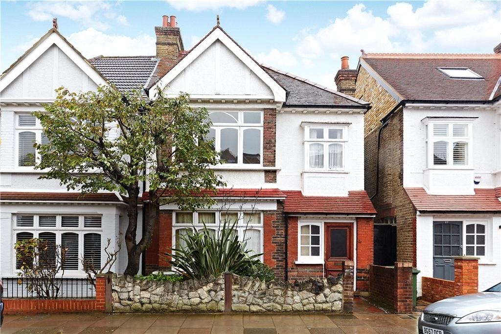 4 Bedrooms Semi Detached House for sale in Gilpin Avenue, London, SW14