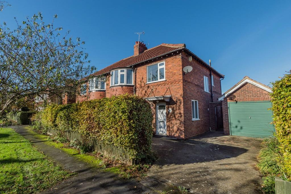3 Bedrooms Semi Detached House for sale in Lang Road, Bishopthorpe, York