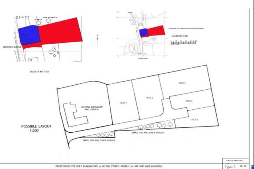 Land Commercial for sale in The Street, Sporle