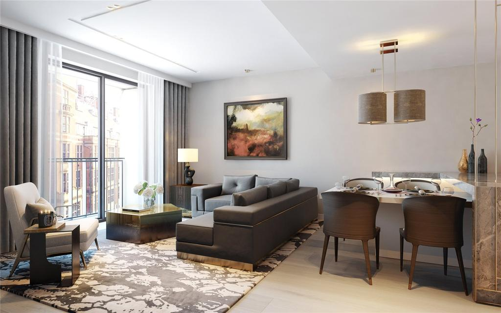Studio Flat for sale in Lincoln Square, Westminster, WC2A