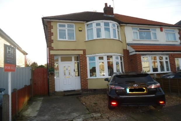 3 Bedrooms Semi Detached House for sale in Seaford Road, Leicester, LE2