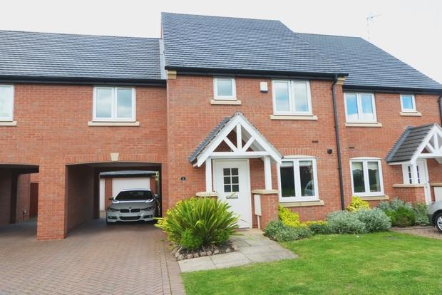 3 Bedrooms Semi Detached House for sale in Whissendine Way, Syston, Leicester, LE7