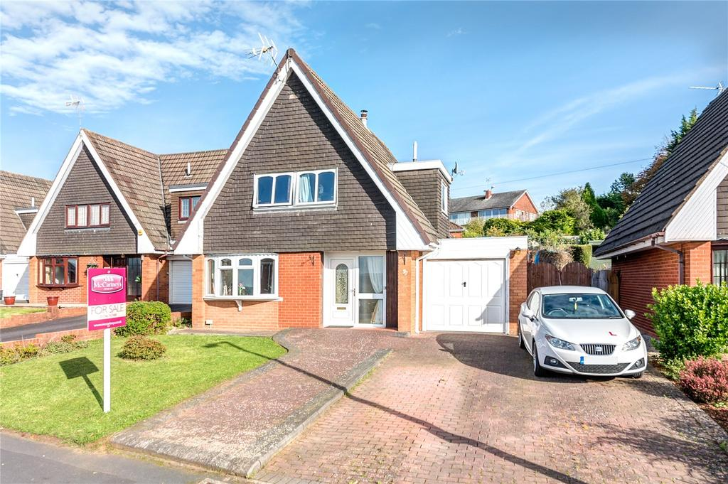 3 Bedrooms Detached House for sale in Redstone Drive, Highley, Bridgnorth, Shropshire