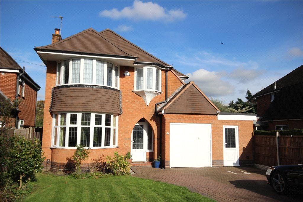 3 Bedrooms Detached House for sale in Dorchester Road, Solihull, West Midlands, B91