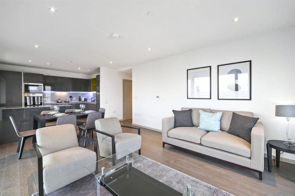 3 Bedrooms Penthouse Flat for rent in Lantana Heights, Glasshouse Gardens, London, E20