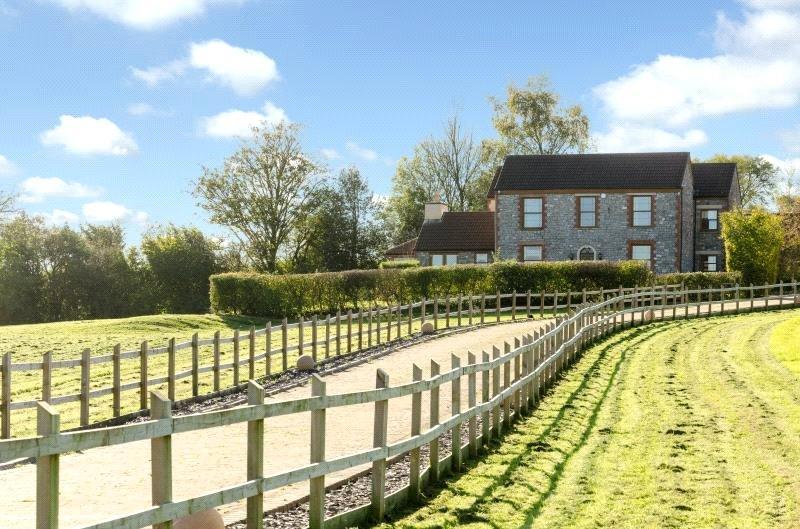 6 Bedrooms Detached House for sale in Redding Pit Lane, Near Regil Winford, Bristol, North Somerset, BS40