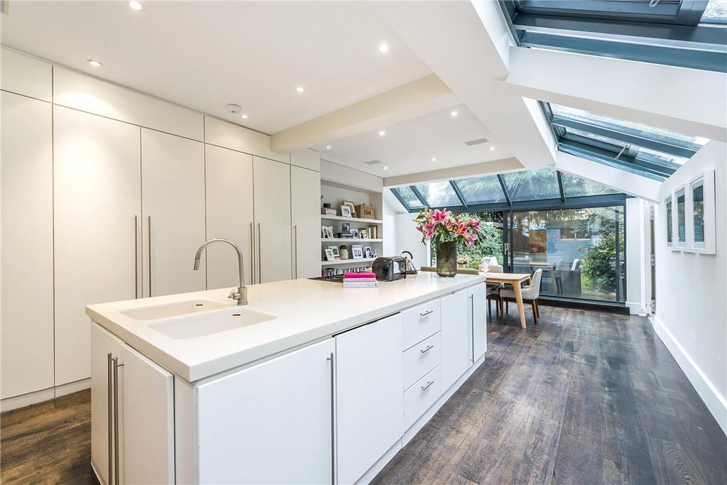 5 Bedrooms Terraced House for sale in Inglethorpe Street, London, SW6