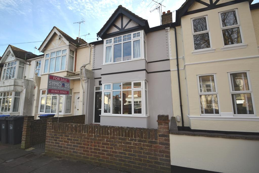 3 Bedrooms Terraced House for sale in Southfield Road, Worthing, BN14 9EQ