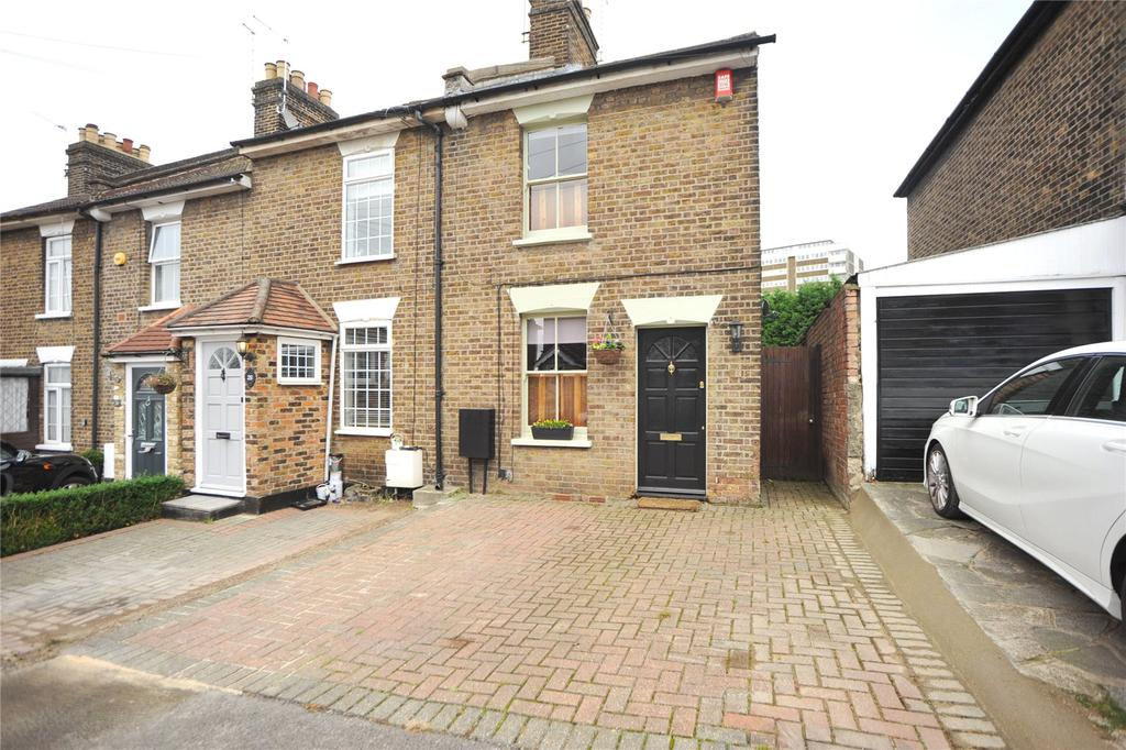 2 Bedrooms End Of Terrace House for sale in Milton Road, Warley, Brentwood, Essex, CM14