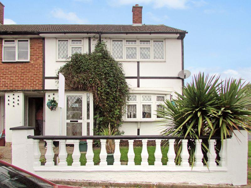 3 Bedrooms End Of Terrace House for sale in Ellenborough Road, Sidcup