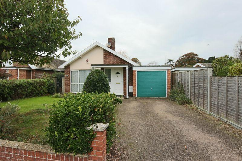 2 Bedrooms Detached Bungalow for sale in Peacock Close, Lowestoft