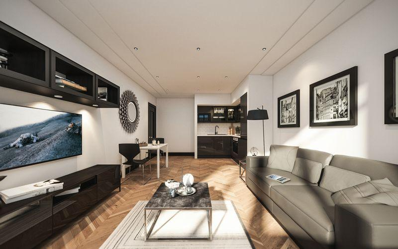 2 Bedrooms Apartment Flat for sale in LAST FRONT FACING TWO BEDROOM AVAILABLE - NORTH HOUSE - 7% NET