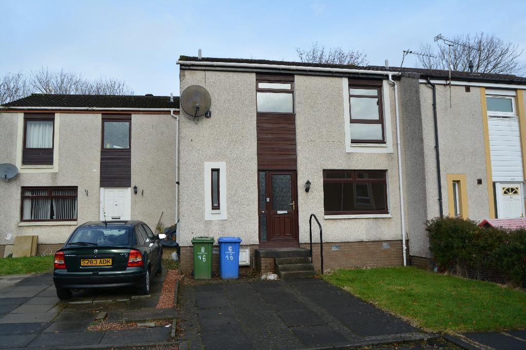 3 Bedrooms Terraced House for sale in Ledmore Place, Hallglen, Falkirk, FK1 2RE