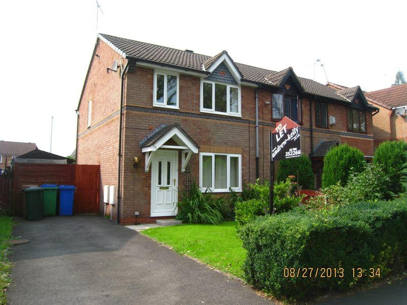 3 Bedrooms Semi Detached House for rent in Wardle Road Rochdale.