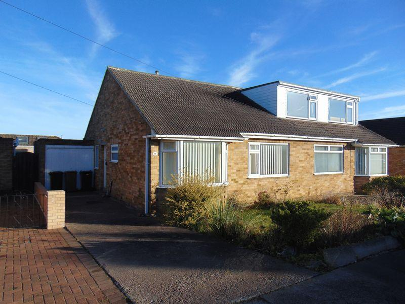 2 Bedrooms Semi Detached Bungalow for sale in Canterbury Way, Wideopen, Newcastle Upon Tyne