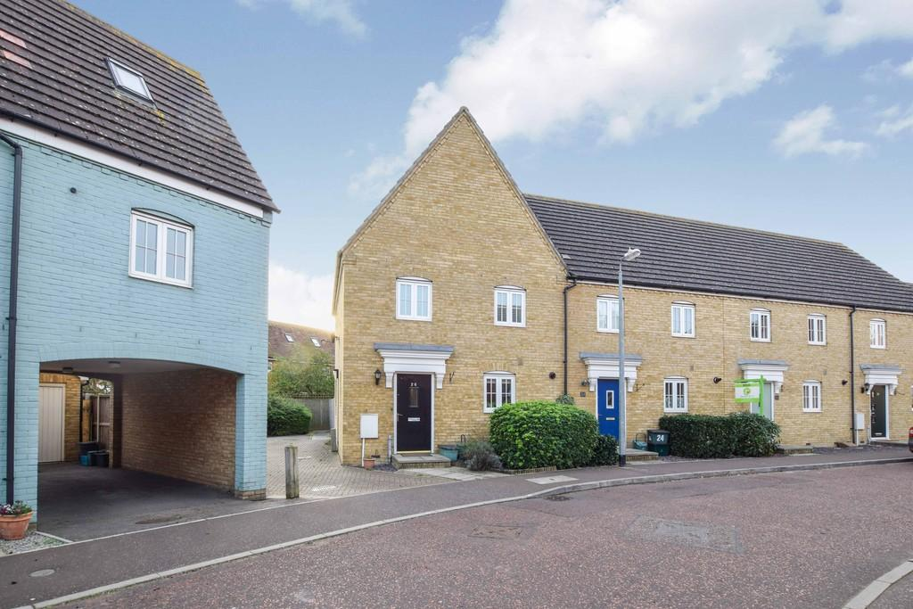 3 Bedrooms End Of Terrace House for sale in Springham Drive, Colchester, CO4 5FN