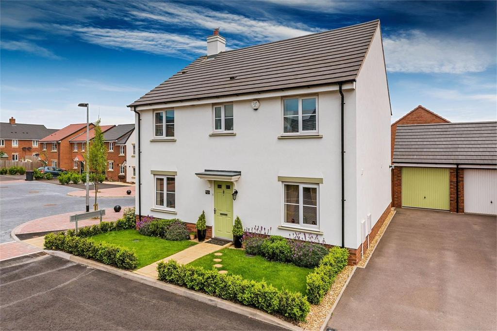 4 Bedrooms Detached House for sale in Shropshire House, Chatham Court, St Georges, Telford, Shropshire, TF2