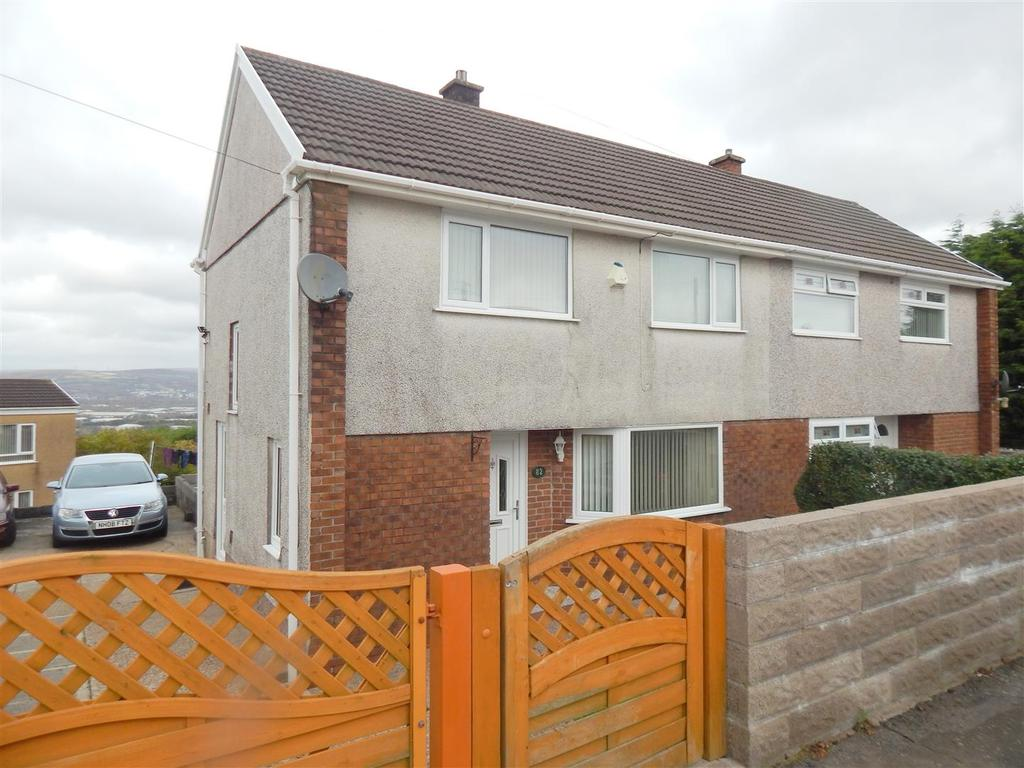 3 Bedrooms Semi Detached House for sale in Lan Coed, Winch Wen, Swansea
