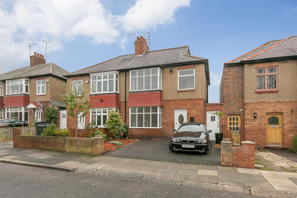 4 Bedrooms Semi Detached House for sale in Fernwood Avenue, Garden Village, Gosforth, Newcastle upon Tyne