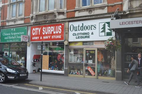 Retail property (high street) to rent - Granby Street, Leicester
