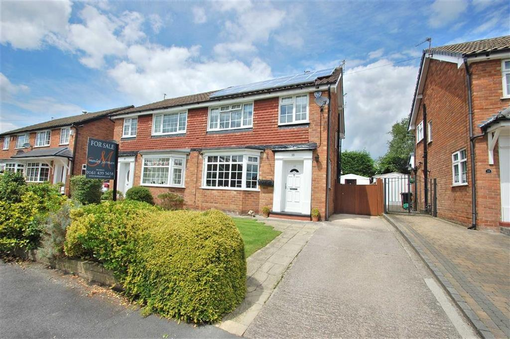 3 Bedrooms Semi Detached House for sale in Blythe Avenue, Bramhall, Cheshire