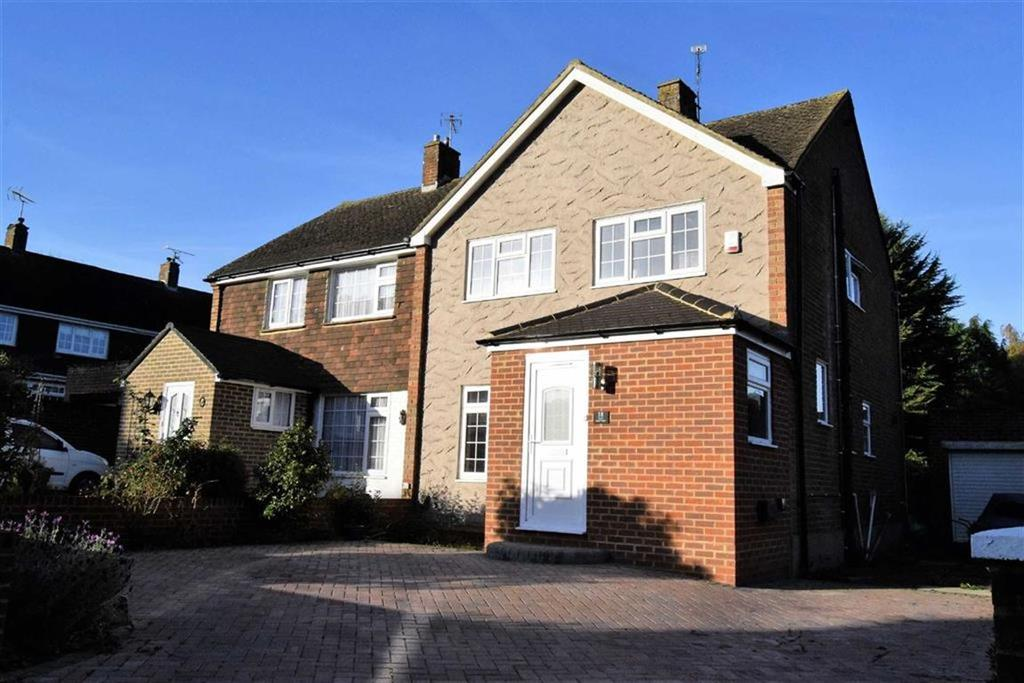 3 Bedrooms Semi Detached House for sale in Prinys Drive, Wigmore, Kent, ME8